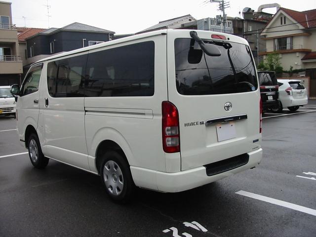 トヨタ ハイエースバン ロングジャストローDXGLパック SDナビ ワンセグ ETC