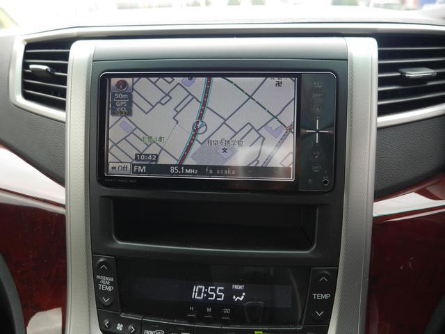 トヨタ ヴェルファイア 2.4Z SDナビ TV Bカメラ 片側パワースライドドア