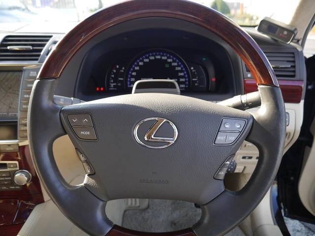 レクサス LS LS460L バージョンUZ 革 後部セパレートシート