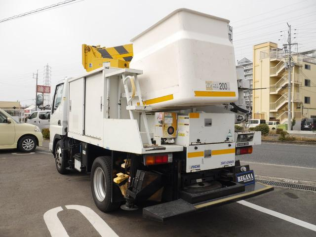高所作業車 4WD Bカメラ 上物 AICHI 作業高さ8m(7枚目)