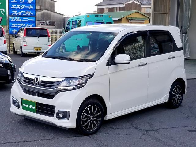 G ワンオーナー Hondaスマートキーシステム ディスチャージヘッドライト LEDフォグライト フロントスタビライザー 14インチアルミホイール(2枚目)