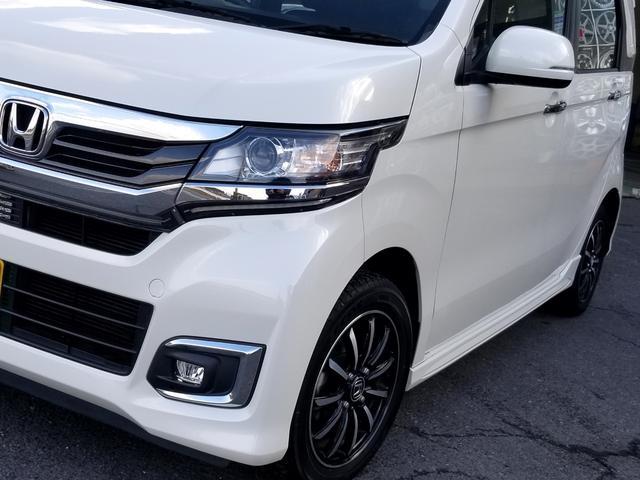 G ワンオーナー Hondaスマートキーシステム ディスチャージヘッドライト LEDフォグライト フロントスタビライザー 14インチアルミホイール(6枚目)