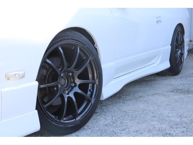 タイプX 後期モデル ADVAN17AW BRIDEセミバケ GPスポーツマフラー HKS車高調 社外デフ1WAY エアクリ(15枚目)