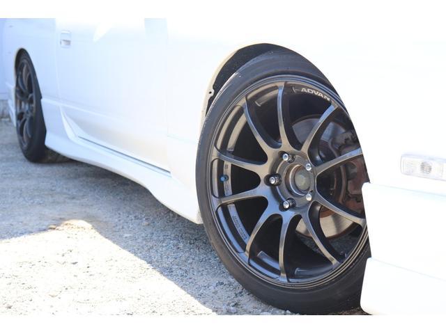 タイプX 後期モデル ADVAN17AW BRIDEセミバケ GPスポーツマフラー HKS車高調 社外デフ1WAY エアクリ(24枚目)