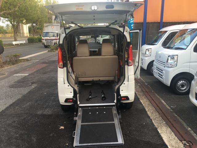 スズキ スペーシア X福祉車両 レ-ダ-ブレ-キシステム