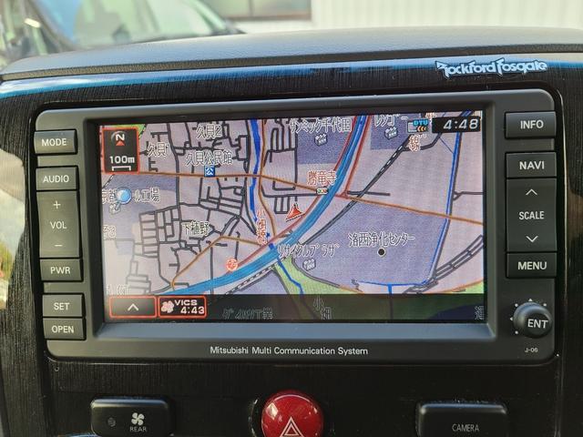 ローデスト G プレミアム HDDナビ 後席モニター フルセグTV DVD再生 Bluetooth FSBカメラ 両側電動スライド 電動リアゲート クルコン ステアリモコン ロックフォードサウンド HID フォグ 切替え4WD(22枚目)