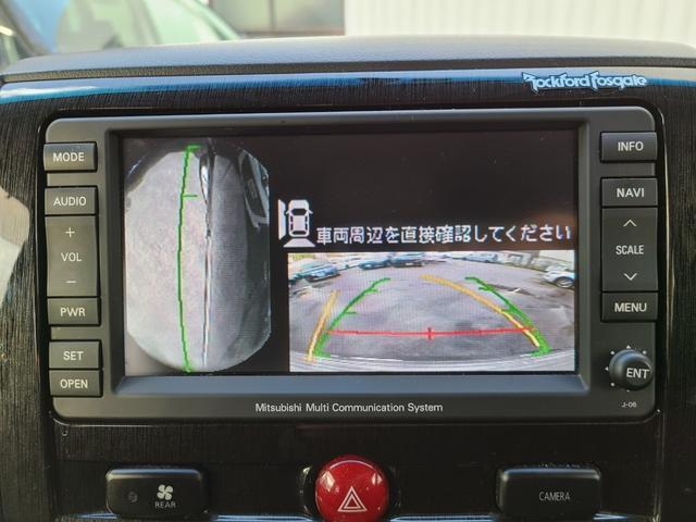 ローデスト G プレミアム HDDナビ 後席モニター フルセグTV DVD再生 Bluetooth FSBカメラ 両側電動スライド 電動リアゲート クルコン ステアリモコン ロックフォードサウンド HID フォグ 切替え4WD(25枚目)