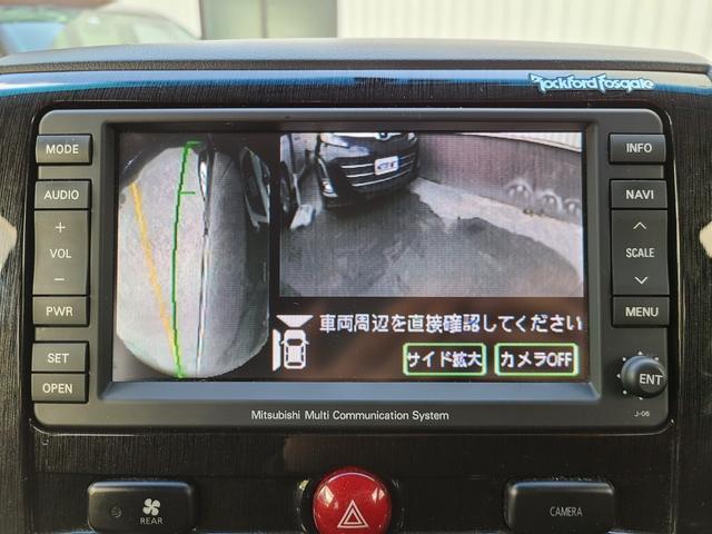 ローデスト G プレミアム HDDナビ 後席モニター フルセグTV DVD再生 Bluetooth FSBカメラ 両側電動スライド 電動リアゲート クルコン ステアリモコン ロックフォードサウンド HID フォグ 切替え4WD(26枚目)