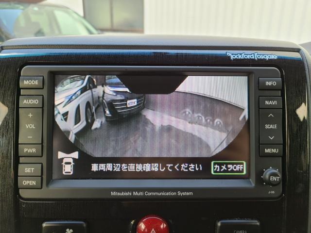 ローデスト G プレミアム HDDナビ 後席モニター フルセグTV DVD再生 Bluetooth FSBカメラ 両側電動スライド 電動リアゲート クルコン ステアリモコン ロックフォードサウンド HID フォグ 切替え4WD(27枚目)