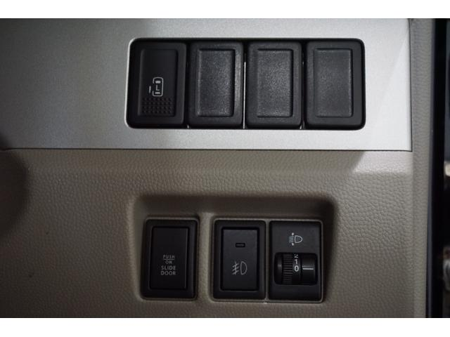 スズキ エブリイワゴン PZターボ 片側電動スライド シートカバー オートエアコン