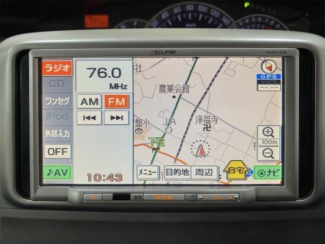 カスタムL ナビ ワンセグTV ベンチシート 左側スライドドア 電動格納ミラー フォグランプ サイドバイザー フロアマット リモコンキー ウィンカーミラー(5枚目)