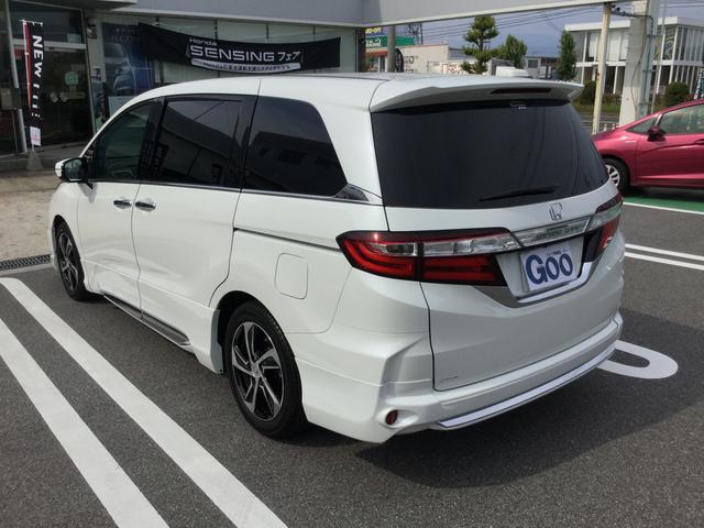 ホンダ オデッセイ アブソルート 無限エアロ装着車