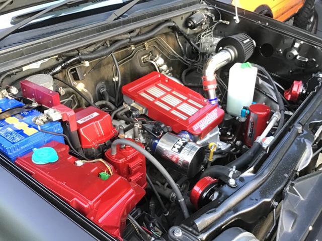 ワイルドウインド 12インチハイリフト エンジン30馬力UP  9インチナビ  モンスター仕様  ショーカー ハイリフトモンスタージムニー(32枚目)