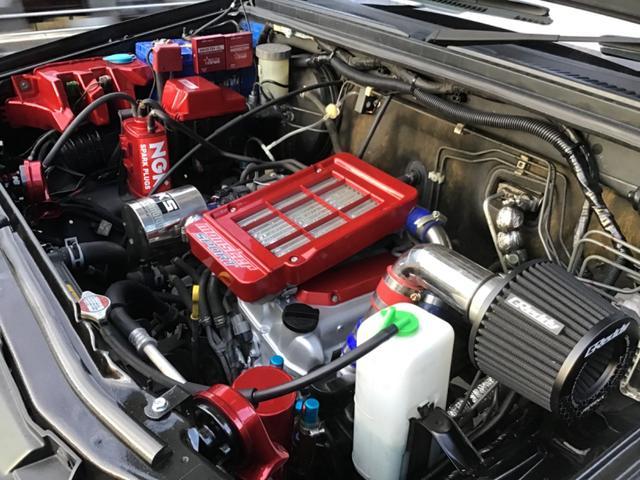 ワイルドウインド 12インチハイリフト エンジン30馬力UP  9インチナビ  モンスター仕様  ショーカー ハイリフトモンスタージムニー(33枚目)