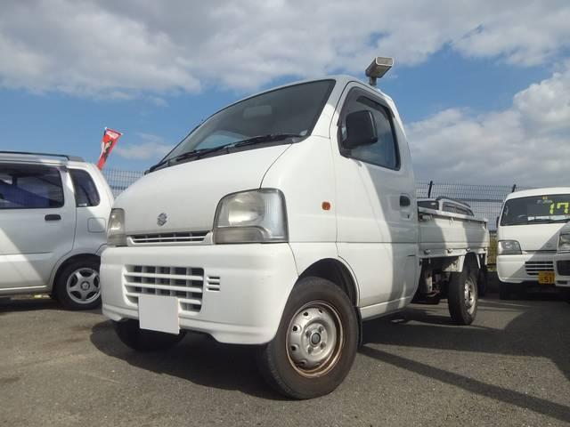 スズキ キャリイトラック KA エアコン付 3方開