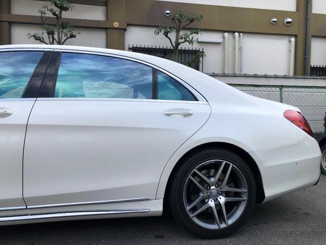 S550ロング左ハンAMG19インチS63仕様ブルメスター(6枚目)