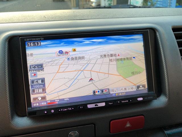 トヨタ ハイエースバン ロングスーパーGLディーゼルターボ HDDナビ バックカメラ