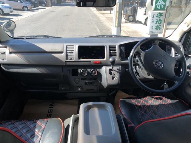 トヨタ ハイエースバン スーパーGL4型LED仕様4WD 寒冷地 社外セキュリティー