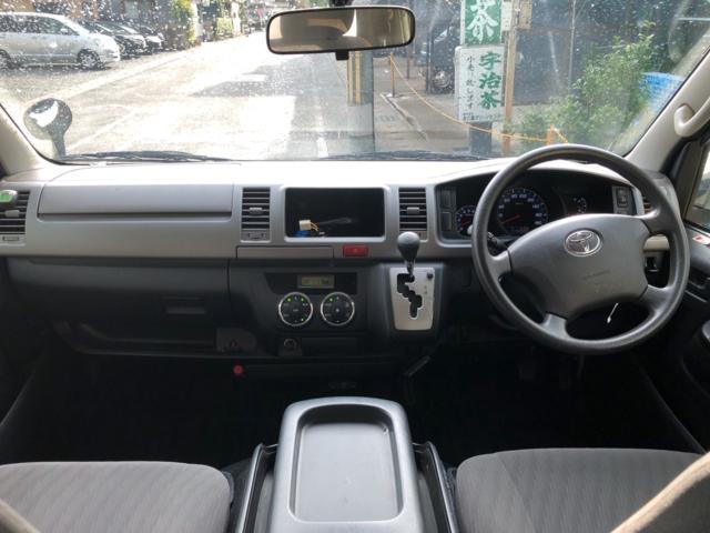 トヨタ ハイエースバン ロングスーパーGL3型4WDディーゼルターボ オートエアコン