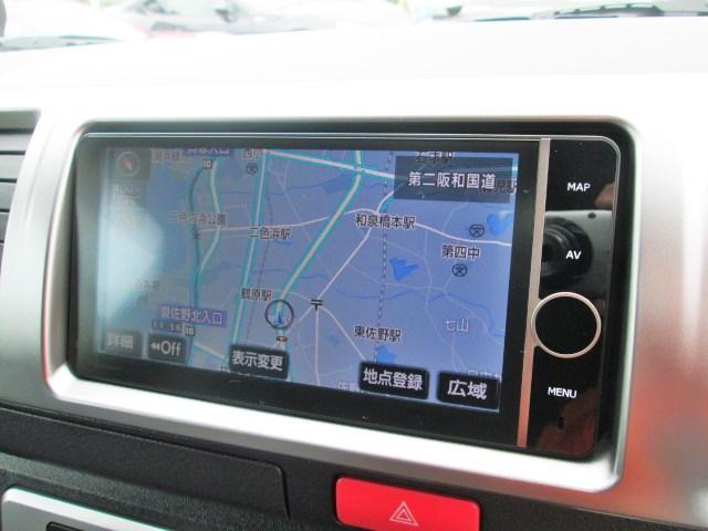 トヨタ ハイエースバン ロングスーパーGLスマートキー純正フルセグHDD純正LED