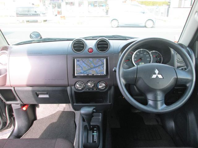 三菱 パジェロミニ XR社外フルセグHDDナビ 2WD社外ETC