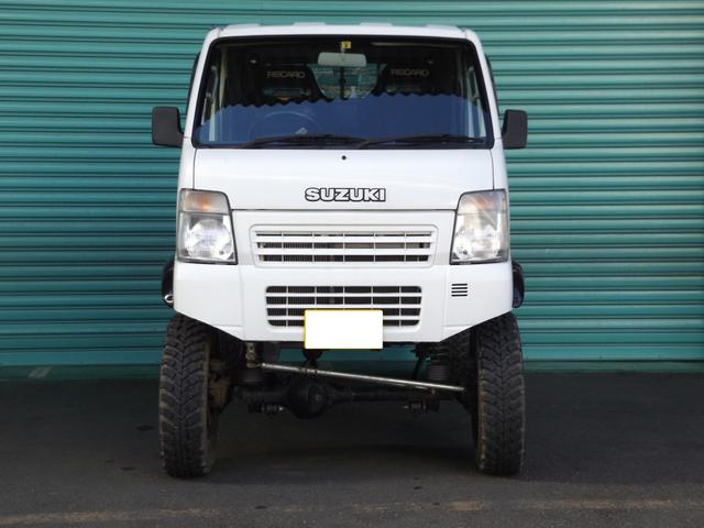 4WD 8インチリフトアップ ジャンボキャビン レカロシート(2枚目)