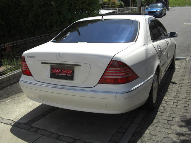 メルセデス・ベンツ M・ベンツ S500後期モデル DVD再生 サンルーフ
