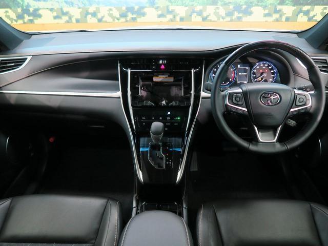 トヨタ ハリアー プレミアム 新車未登録 プリクラッシュ 障害物センサー