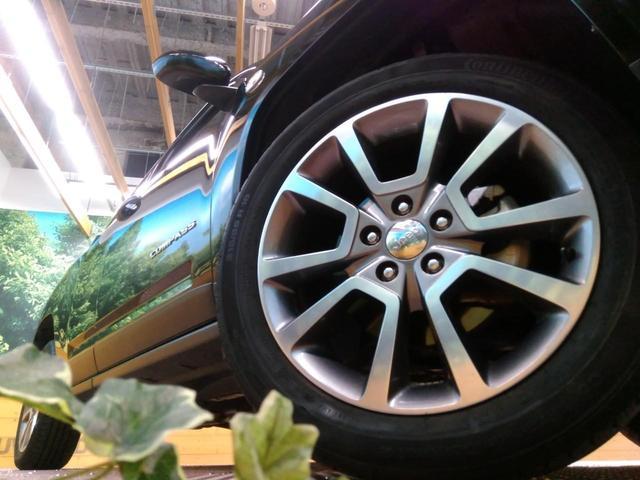 クライスラー・ジープ クライスラージープ コンパス リミテッド 黒革 4WD