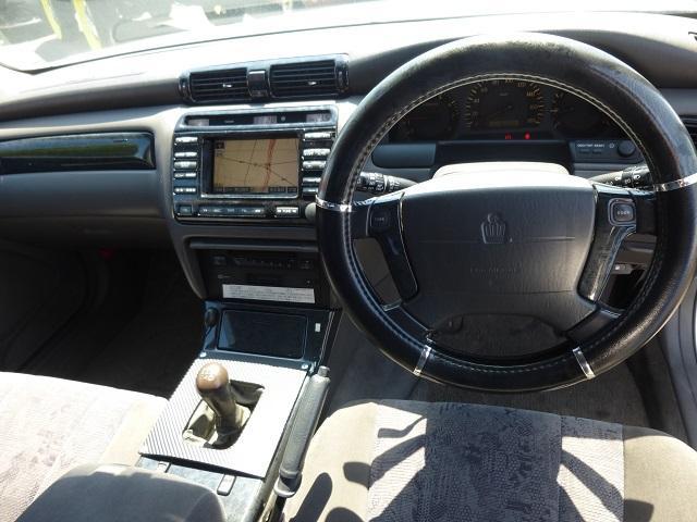 トヨタ クラウンエステート アスリートV 5速載せ替え 車高調 マフラー 19AW ナビ