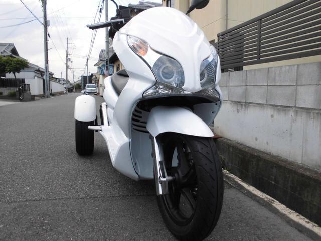 ホンダPCXトライク カスタム マフラー新品外装 社外ヘッド(3枚目)
