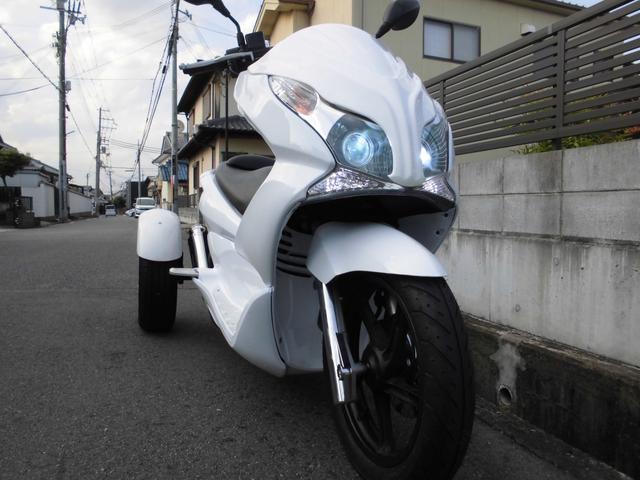 ホンダPCXトライク カスタム マフラー新品外装 社外ヘッド(7枚目)