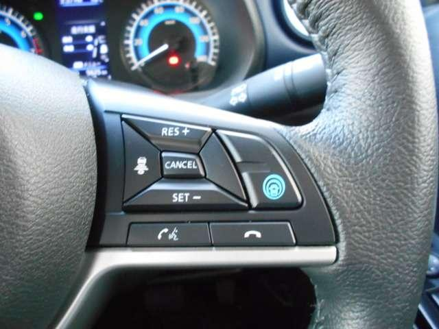 高速道路等で、ステアリング、アクセル、ブレーキ操作をアシストしいてくれる、プロパイロット。運転の負担を軽減してくれます