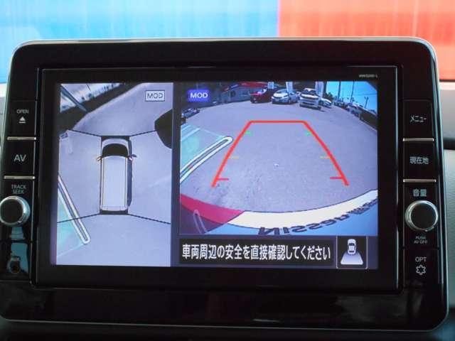 660 X 9インチナビ・前後ドライブレコーダー キーフリー ナビTV アラウンドビュー スマートキー ワンオーナー 禁煙車 バックカメラ 衝突軽減ブレーキ(8枚目)