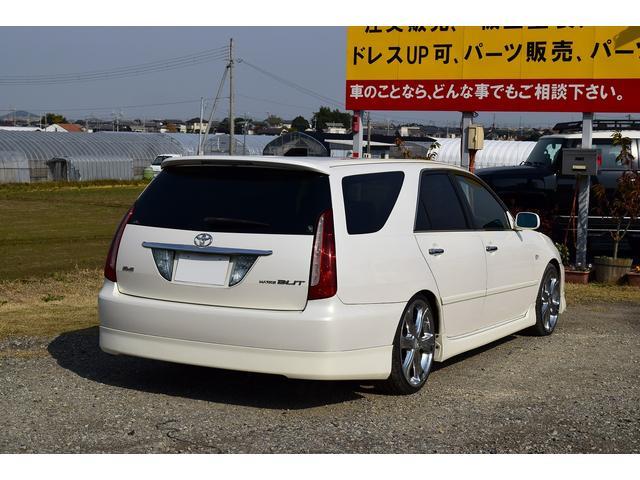 トヨタ マークIIブリット 2.5iR-S 社外19AW ローダウン ETC 純正ナビ