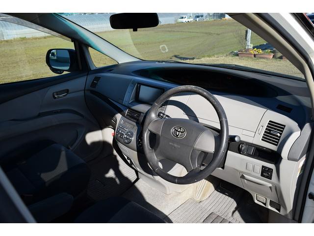 トヨタ エスティマ アエラス HDDナビ HID スマートキ 両側パワースライド