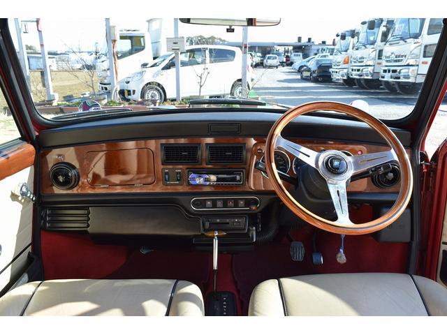 ローバー ローバー MINI ケンジントン 革シート ETC フェンダーミラー 純正アルミ