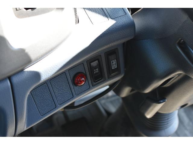 ベースグレード 古河4段ユニック ラジコン 4トン車 荷台鉄板加工 6速MT車 新品メッキバンパー メッキグリル(12枚目)