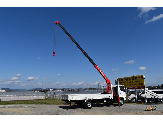 ベースグレード 古河4段ユニック ラジコン 4トン車 荷台鉄板加工 6速MT車 新品メッキバンパー メッキグリル(23枚目)
