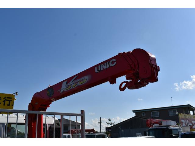 ベースグレード 古河4段ユニック ラジコン 4トン車 荷台鉄板加工 6速MT車 新品メッキバンパー メッキグリル(65枚目)