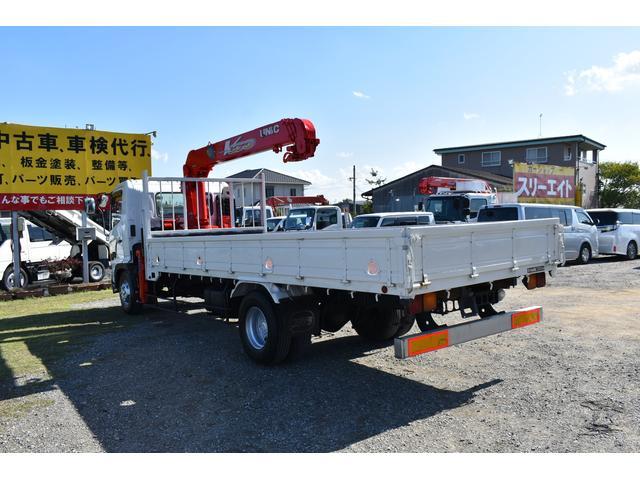 ベースグレード 古河4段ユニック ラジコン 4トン車 荷台鉄板加工 6速MT車 新品メッキバンパー メッキグリル(69枚目)