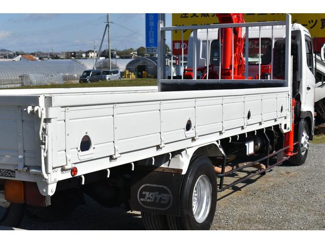 ベースグレード 古河4段ユニック ラジコン 4トン車 荷台鉄板加工 6速MT車 新品メッキバンパー メッキグリル(73枚目)