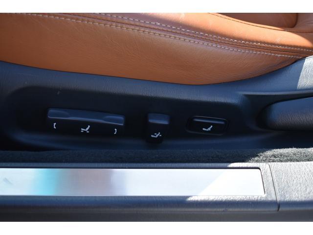 430SCV 純正ナビ 本革シート 茶革シート シートヒーター パワーシート ETC ウッドコンビハンドル マークレビンソン ローダウン 社外19AW(14枚目)