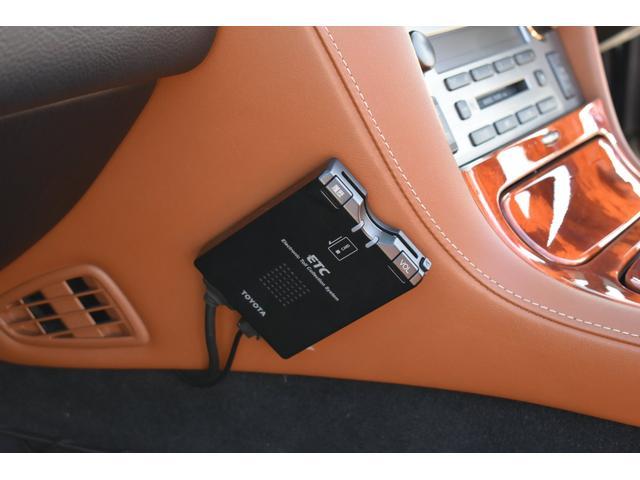 430SCV 純正ナビ 本革シート 茶革シート シートヒーター パワーシート ETC ウッドコンビハンドル マークレビンソン ローダウン 社外19AW(18枚目)