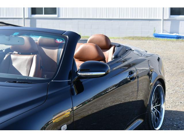 430SCV 純正ナビ 本革シート 茶革シート シートヒーター パワーシート ETC ウッドコンビハンドル マークレビンソン ローダウン 社外19AW(39枚目)
