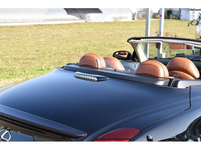 430SCV 純正ナビ 本革シート 茶革シート シートヒーター パワーシート ETC ウッドコンビハンドル マークレビンソン ローダウン 社外19AW(52枚目)