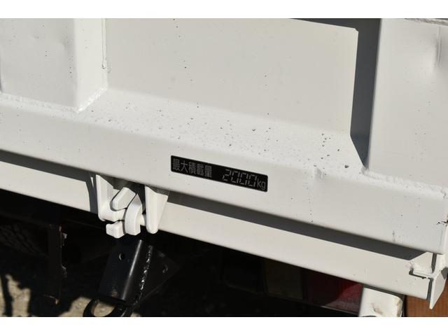 強化ダンプ 2トンダンプ 新品シートカバー メッキバンパー メッキグリル 5速MT車 最大積載2000KG 左電格ミラー 3人乗り(51枚目)