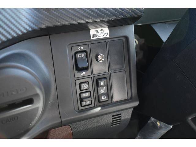 積載車 ステンレス加工 油圧リアゲート ユニックネオ5 ハイルーフ ベッド付き カーテン 内装LED コーナーLED フルメッキ装着 レーダー ドラレコ ETC 社外ナビ TV走行中OK 道具箱(18枚目)
