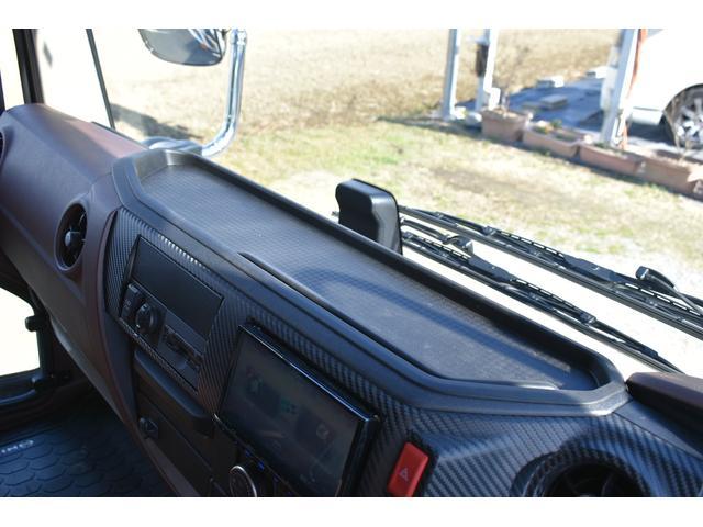 積載車 ステンレス加工 油圧リアゲート ユニックネオ5 ハイルーフ ベッド付き カーテン 内装LED コーナーLED フルメッキ装着 レーダー ドラレコ ETC 社外ナビ TV走行中OK 道具箱(71枚目)