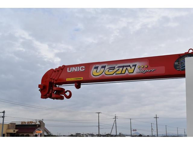 ベースグレード 古河4段ユニック ラジコン フックイン メッキバンパー メッキコーナーパネル メッキグリル メッキミラーカバー UNIC 2010年式 2.93吊 荷台寸法・内寸540.211 ETC AT車両(44枚目)